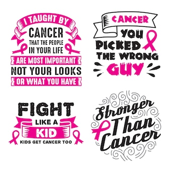 Ensemble de citations et de phrases sur le cancer
