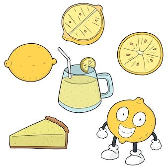 Ensemble de citrons