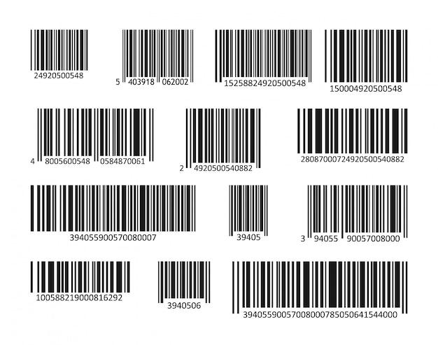 Ensemble de codes à barres