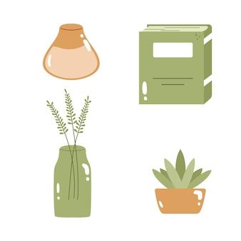 Ensemble de collection d'accessoires pour la maison