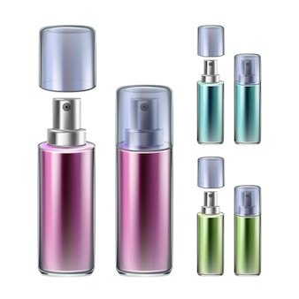 Ensemble de collection de bouteilles de pulvérisateur de parfum