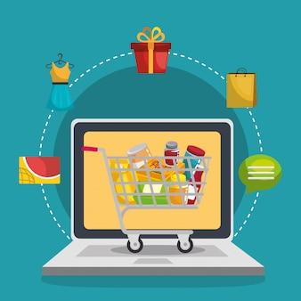 Ensemble de commerce électronique