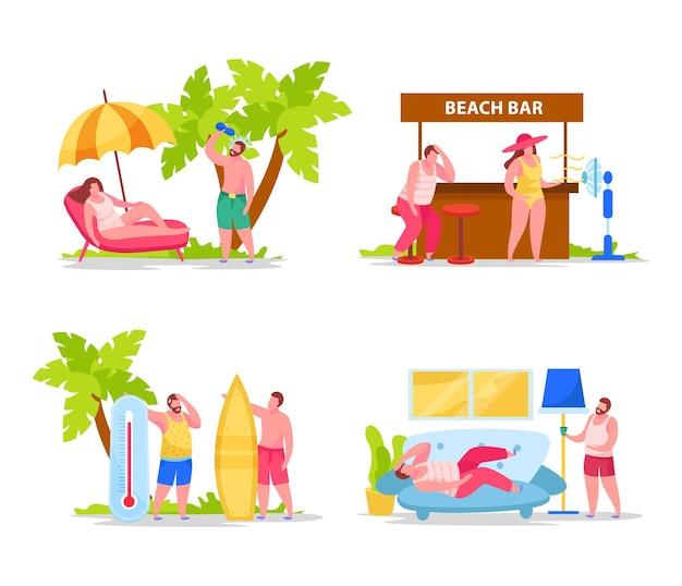 Ensemble de compositions d'été