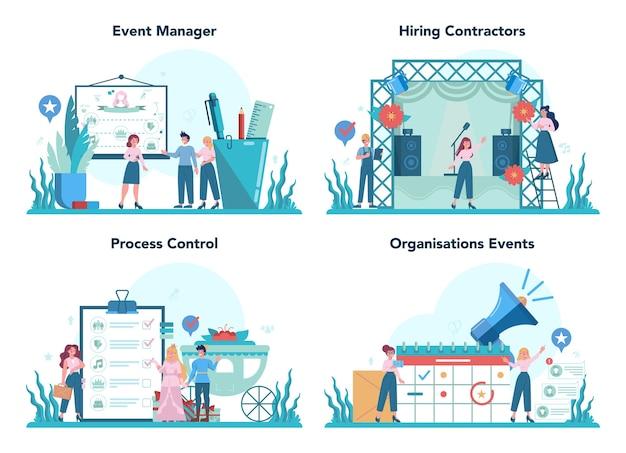 Ensemble de concept de gestion d'événements
