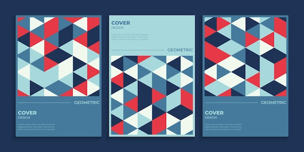 Ensemble de conception de couverture géométrique