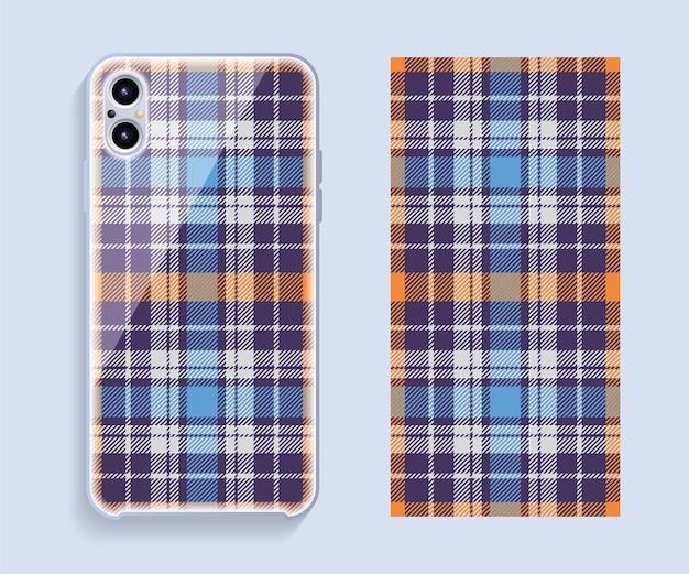 Ensemble de conception de couverture de téléphone portable