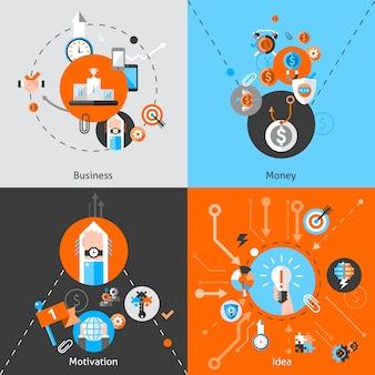 Ensemble de concepts d'affaires