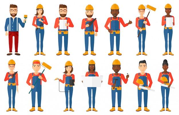 Ensemble de constructeurs et de constructeurs