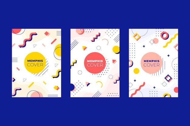 Ensemble de couverture design coloré