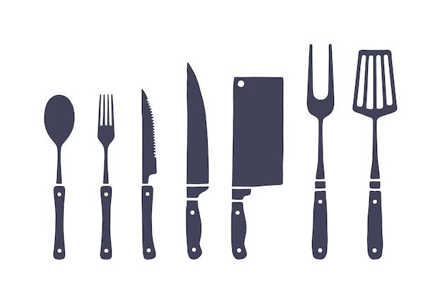 Ensemble de cuisine vintage