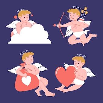 Ensemble cupidon saint valentin