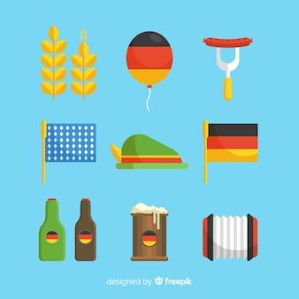 Ensemble d'éléments Oktoberfest