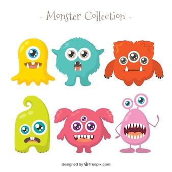 Personnage de dessin anime monstre vecteurs et photos - Images de monstres rigolos ...
