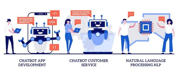 Ensemble de développement d'applications chatbot, service client et traitement du langage naturel