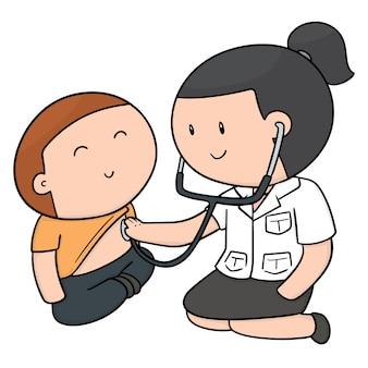 Ensemble de docteur