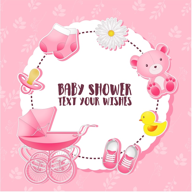 Ensemble de douche de bébé