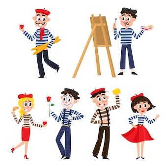Ensemble de drôles de français