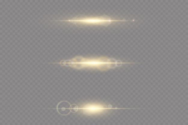 Ensemble d'effets spéciaux de lumière parasite