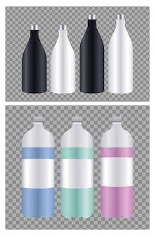 Ensemble d'emballage de bouteilles