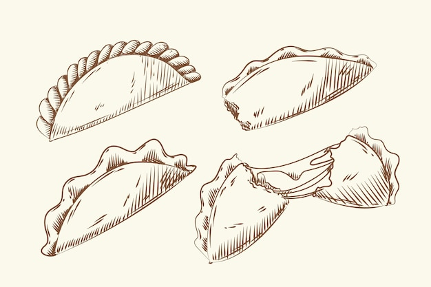 Ensemble d'empanada