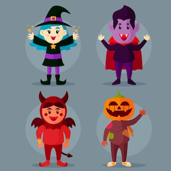 Ensemble enfant halloween