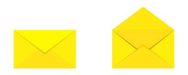 Ensemble d'enveloppes - vecteur