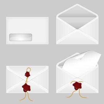 Ensemble d'enveloppes