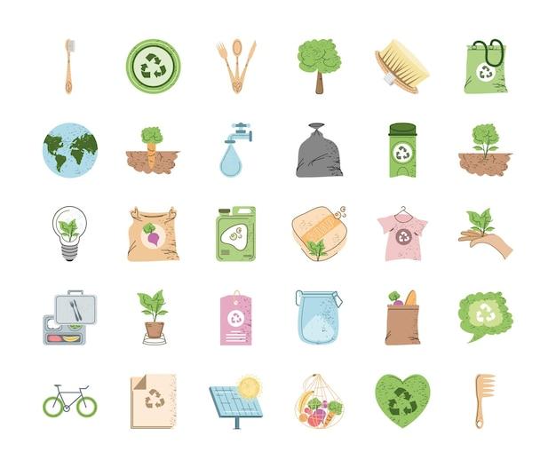 Ensemble d'environnement