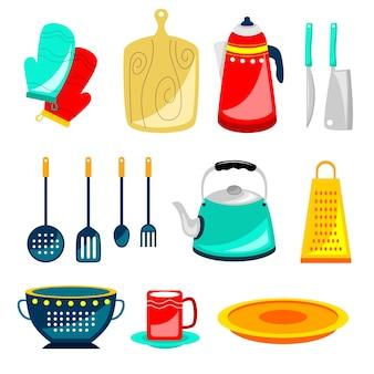 Ensemble d'équipement d'outils de cuisine
