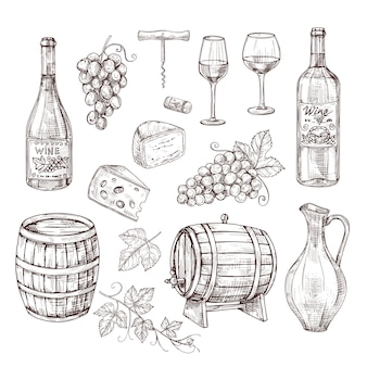 Ensemble d'équipement vinicole