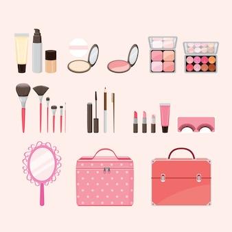 Ensemble d'équipements cosmétiques