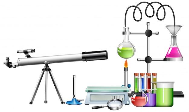 Ensemble d'équipements scientifiques