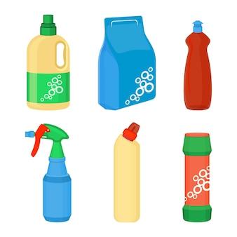 Ensemble d'essentiels pour le nettoyage à domicile de détergent à lessive, nettoyant multi-surfaces, ensemble de détachant