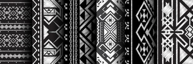 Ensemble ethnique modèle sans couture