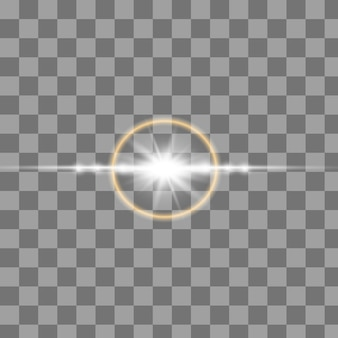 Ensemble d'étincelles d'or isolés. étoiles brillantes de vecteur.