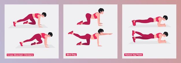 Ensemble d'exercices pour femmes