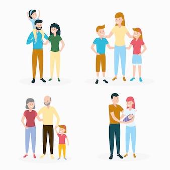 Ensemble de la famille