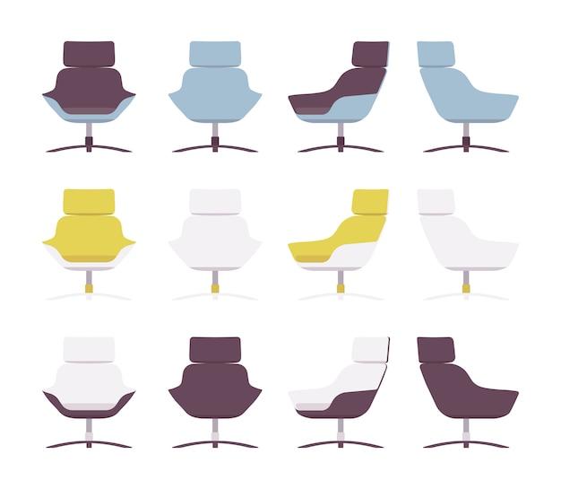 Ensemble de fauteuils rerto