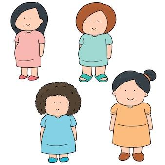 Ensemble de femme enceinte