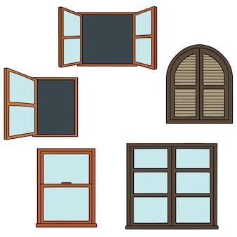Ensemble de fenêtre