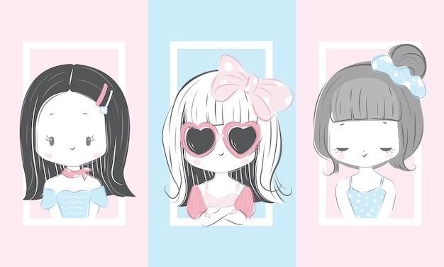 Ensemble de fille cool