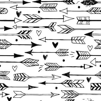 Ensemble de flèches décoratives