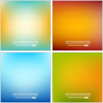 Ensemble flou multicolore