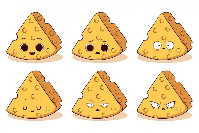 ensemble de fromage mignon