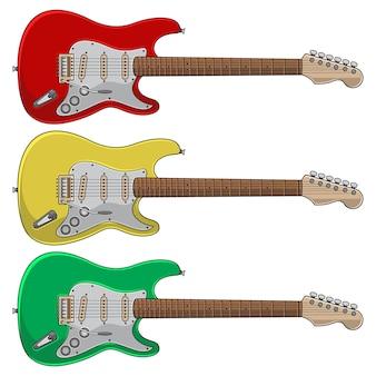 Ensemble de guitare électrique