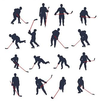 Ensemble de hockey deux couleurs