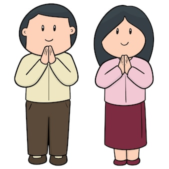 Ensemble homme et femme