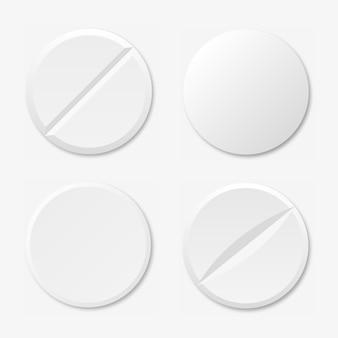 Ensemble d'icône de pilules