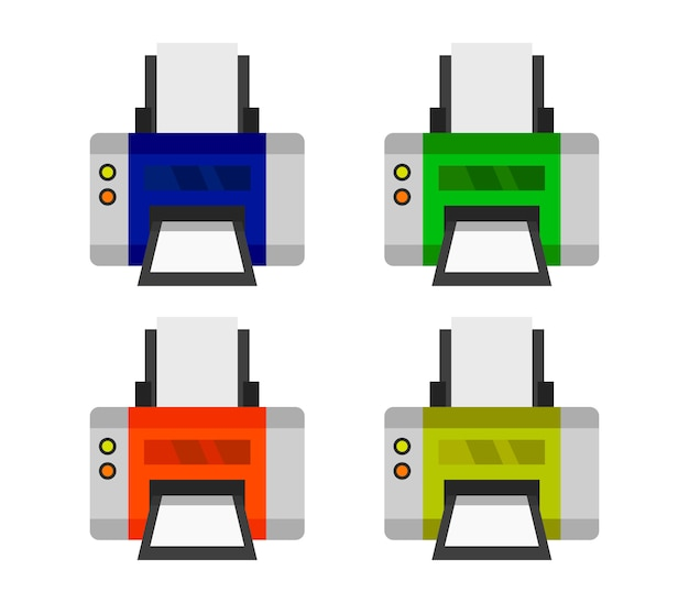 Ensemble d'imprimantes