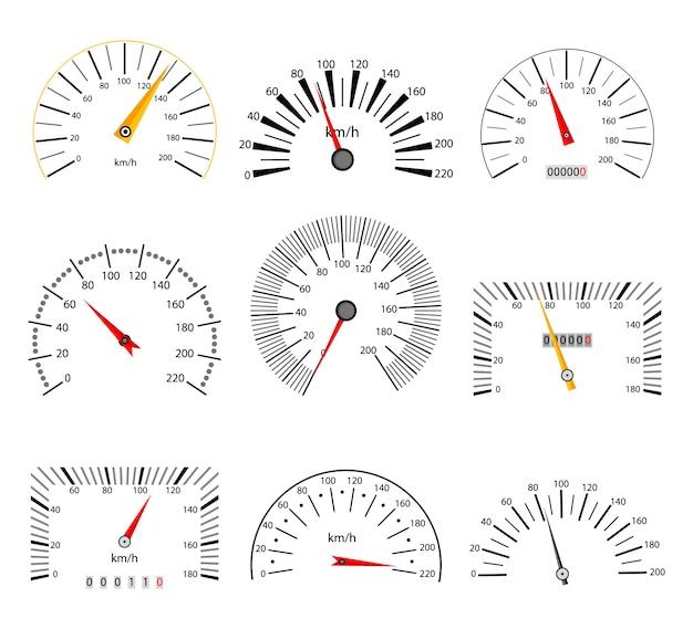 Ensemble d'indicateur de vitesse